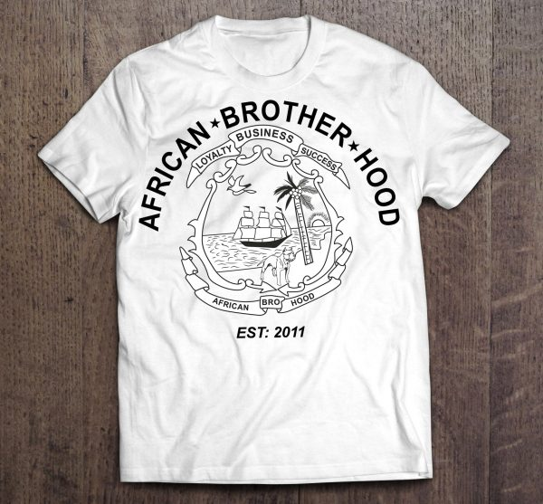 african-brotherhood-T-white