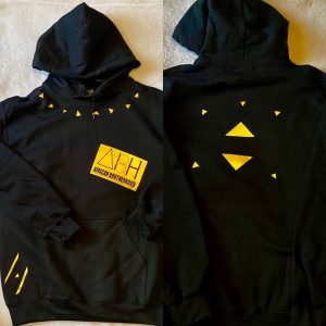 ABH Hoodie (gold on black)